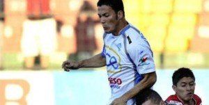 Il calciatore costaricano Roger Fallas