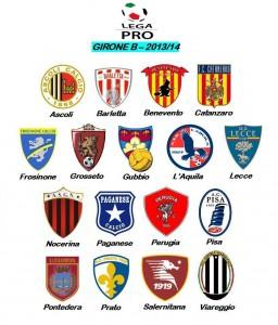 Il girone B della Lega Pro 2013/'14