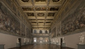 La Sala d'arme a Palazzo Vecchio