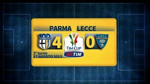 highlights Parma-Lecce 4-0