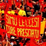 ultrà Lecce Curva Nord striscioni