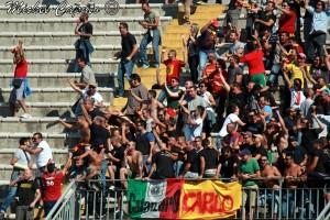 tifosi Catanzaro a Lecce