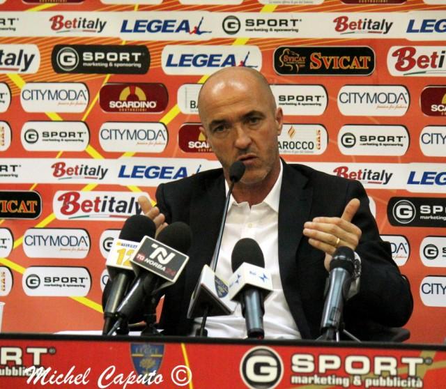 """Lerda-bis: """"Il Lecce non merita zero punti in classifica. Voglio fare bene"""""""
