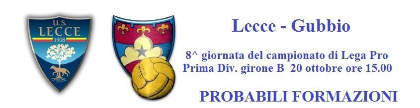 Lecce-Gubbio, leccezionale.it
