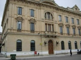 Chiuse per lavori le Poste Centrali di Piazza Libertini
