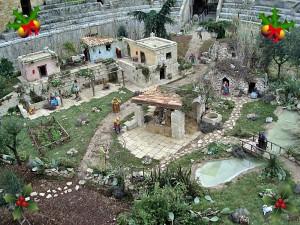 Presepe anfiteatro Lecce