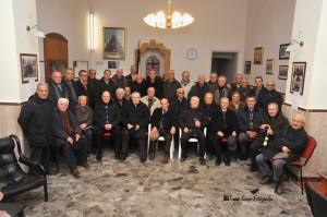 I componenti della Società Operaia di Novoli (foto Serio)