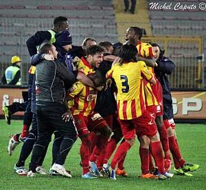 Lecce esultanza
