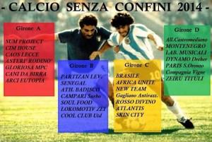 Calcio senza confini 2014