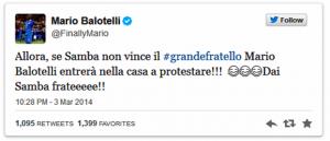 tweet Balotelli