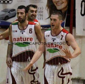 Basket Nardò - Malamov e Manca
