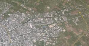 Lecce dall'alto