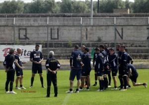 allenamento Lecce Squinzano