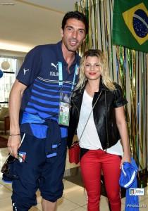 Emma con Buffon