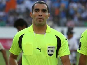 L'arbitro Rodriguez Moreno