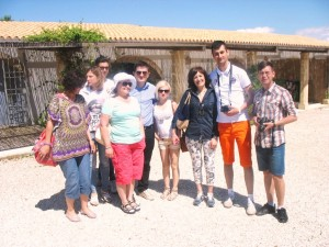 Rappresentanti GAL Romania e Calabria