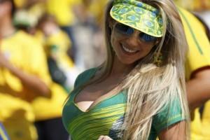 tifosa brasiliana