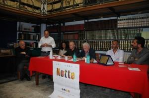Conferenza Notte Bianca della Cultura 12.07-Fabio Sirsi
