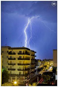 Fulmini su Lecce 21-7-2014 2