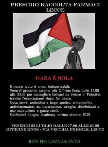 farmaci per Gaza png