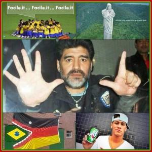 sfottò Brasile