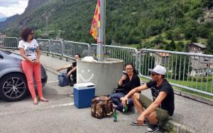 tifosi Lecce Val d'Aosta