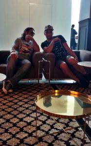 tifosi in albergo