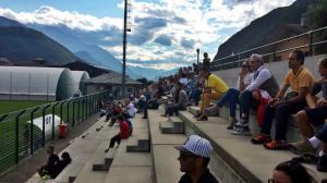 tifosi ritiro Val d'Aosta
