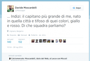 tweet Moscardelli