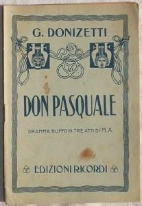 Don Pasquale Donizetti