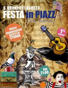 Festa in Piazza 31.08.2014