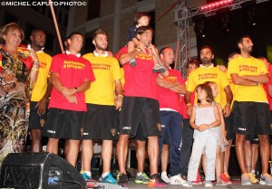 festa giallorossa Lecce 2
