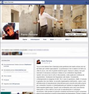 replica Perrone a Tesoro su facebook