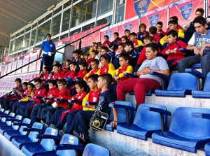 visita allo stadio Noi Lecce