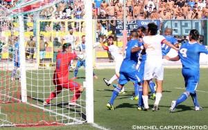 Gallipoli-Brindisi gol 1-0