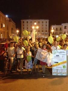 Marcia per il clima Lecce 2