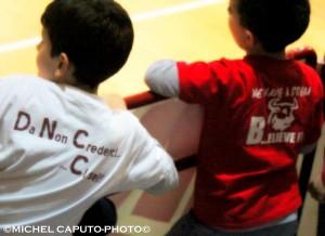 bambini tifosi Andrea pasca Nardò Basket