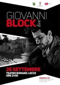 locandina Giovanni Block