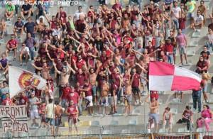 I tifosi del Nardò a Casarano