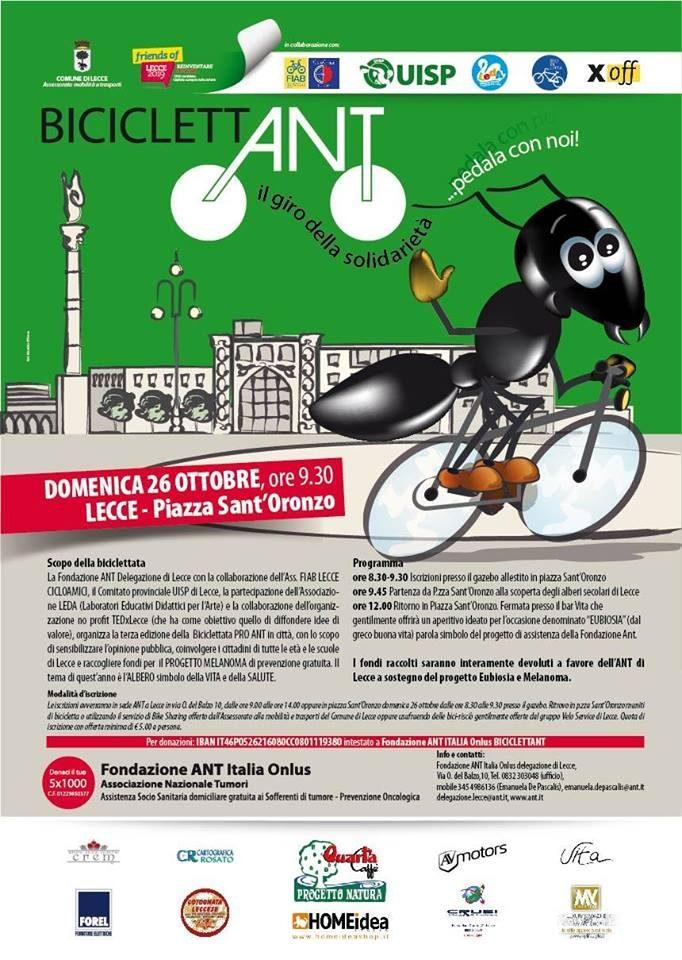 Biciclettata ANT 2014