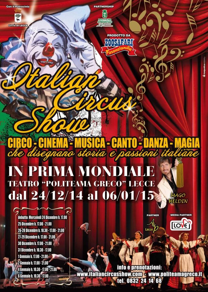 Italian Circus show