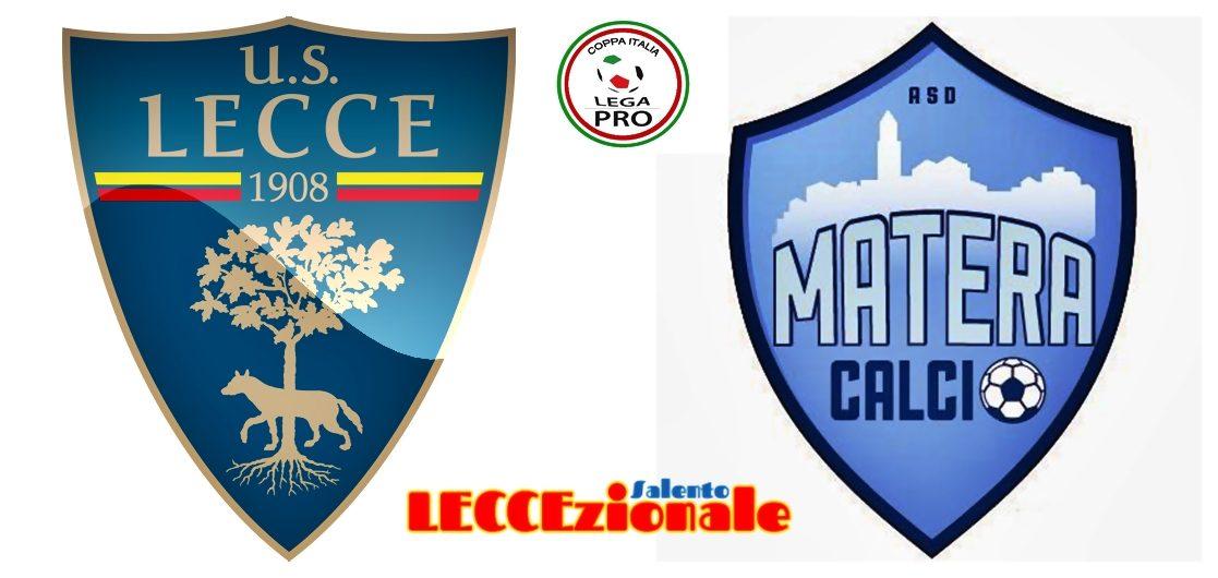 Lecce - Matera coppa italia