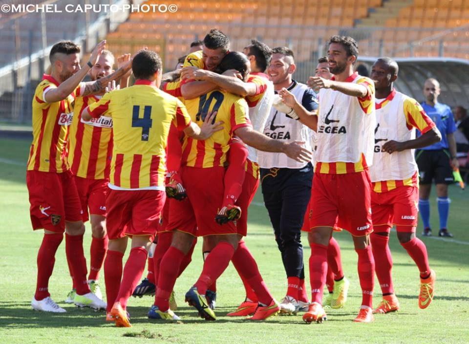 esultanza Lecce