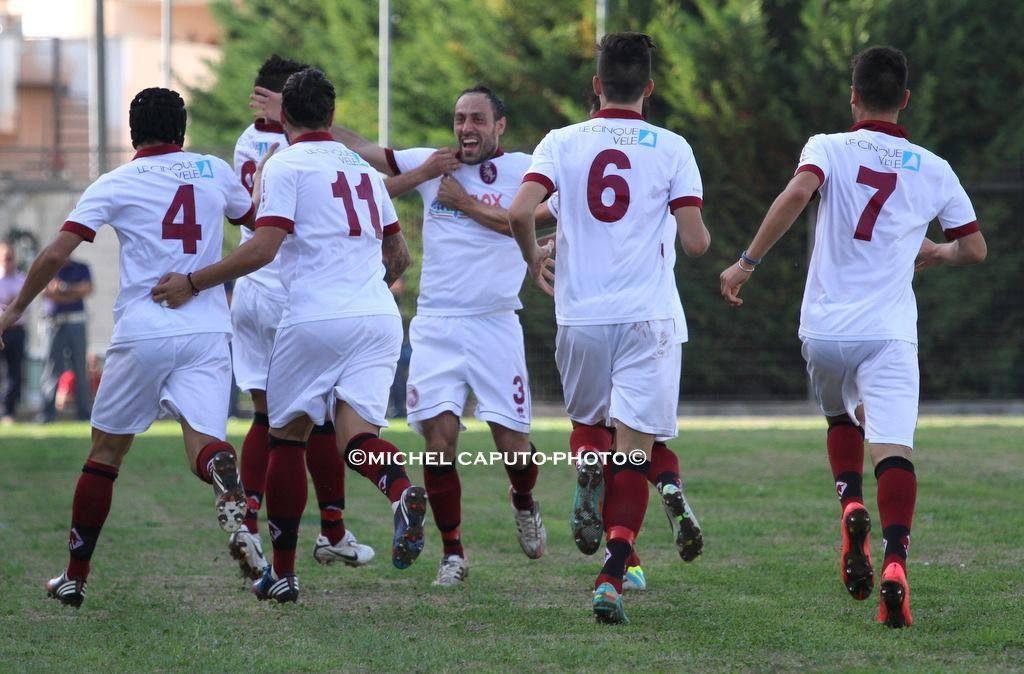 esultanza Nardò Calcio
