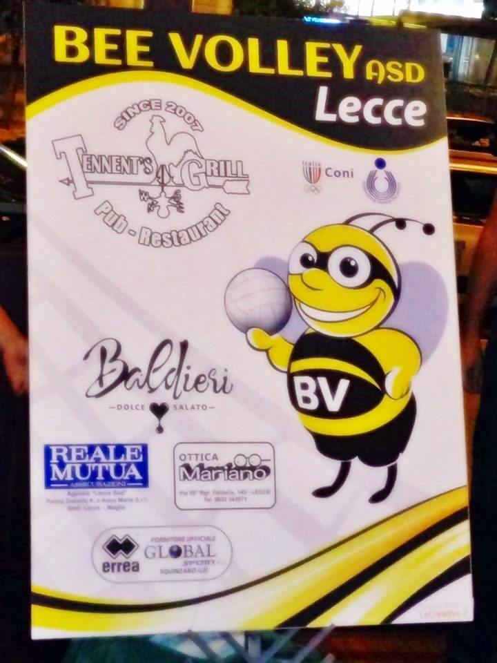 logo Bee Volley Lecce