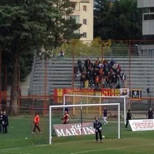 """I tifosi del Gallo al """"Viviani"""""""
