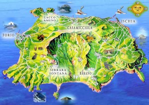 Ischia mappa