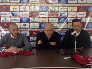 Cirillo, Belardi e presidente Foti