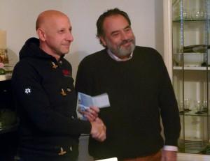 Fabrizio Camilli e Franco Russo