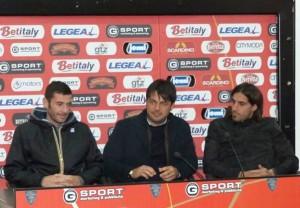 Visita allo stadio febbraio 2015 Lopez Lillo Bogliacino
